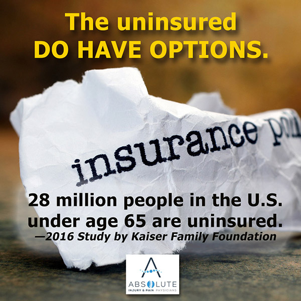 No Health Insurance: Options