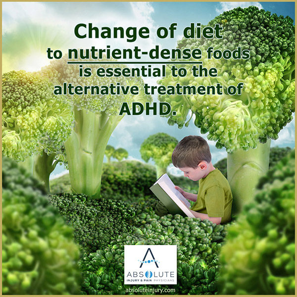 adhd alternative treatments diet