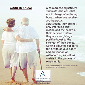 Good to Know: Chiropractic and Osteoporosis