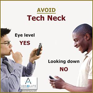 Do You Have Tech Neck?