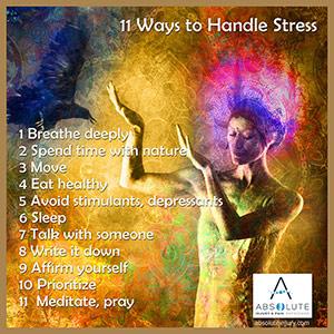 11 Ways to Handle Stress