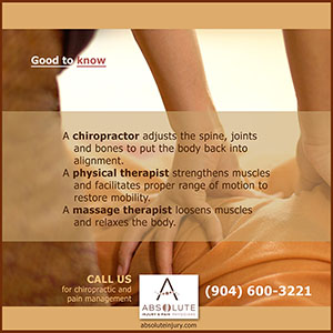Chiropractic vs. Physical Therapy vs. Massage