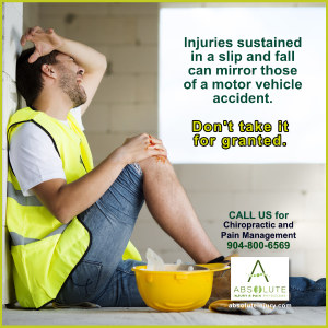 Slip and Fall: Don't Take It for Granted!