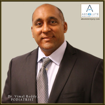 Podiatrist Dr. Vimal Reddy Joins Absolute Team