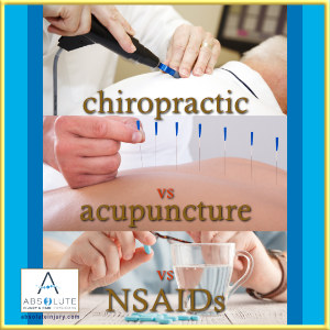 Chiropractic vs. Acupuncture vs. NSAIDs